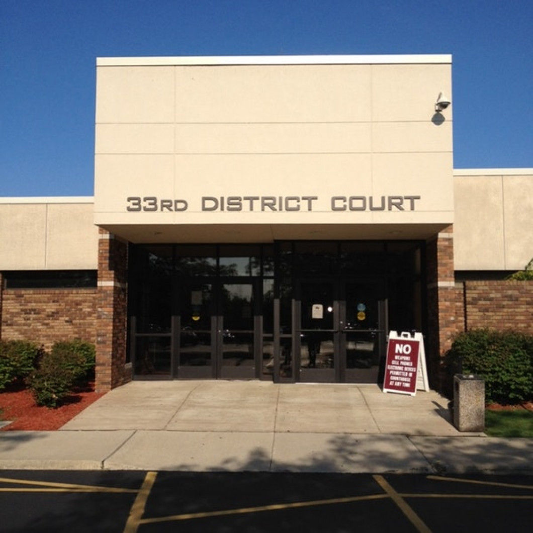 Trenton, Gibralter, Woodhaven, Rockwood, Flat Rock, Township of Brownstown and Gross Ile-- 33rd District Court
